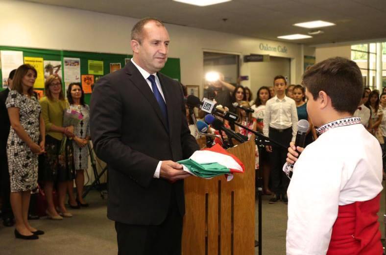 Румен Радев: България е там, където има българска реч!